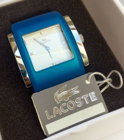 LACOSTE Zegarek damski Quartz 6350L 28 niebieski