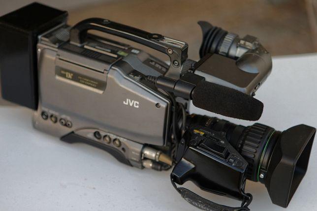Câmara de Filmar Vídeo Gravadora JVC mini DV Lente Canon Profissional