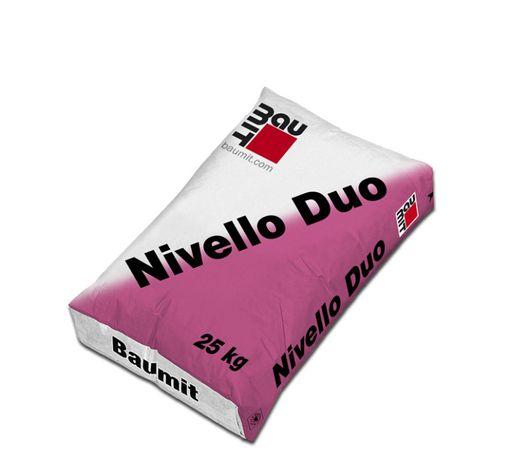 Baumit Nivello Duo самовыравнивающаяся смесь, толщина 2-20 мм, 25кг