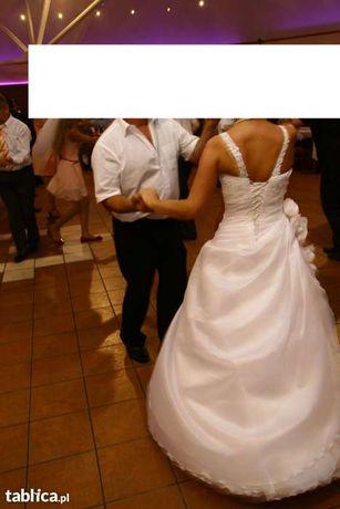 Przepiękna suknia ślubna rozmiar 36/38 z salonu LORETTA-Gratisy