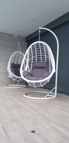 Cadeira de Baloiço Suspensa Branca By Arcoazul