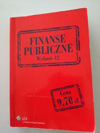 Finanse publiczne, ustawa Wolters Kluwer LEX