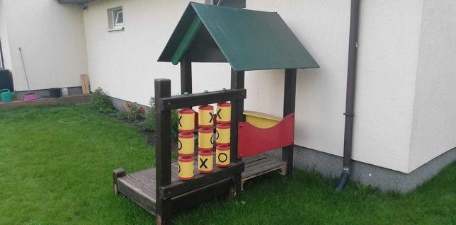 Domek dla dzieci na ogród. Drewniany