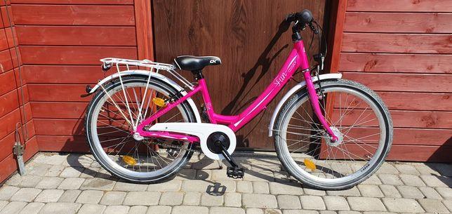 Rower juniorski dziecięcy cossack 24cale nowy