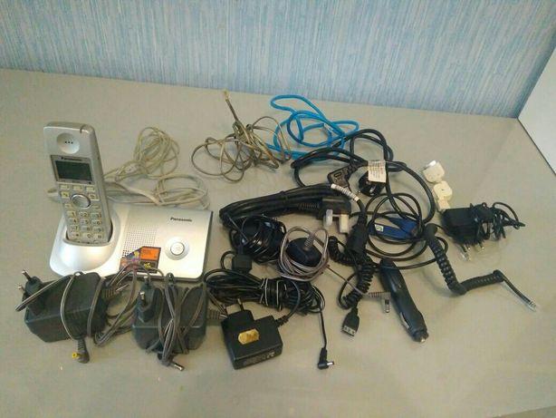 Зарядные, кабели, телефон, блок питания