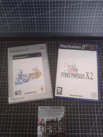 Jogos Final Fantasy X e X - 2 playstation 2 completos