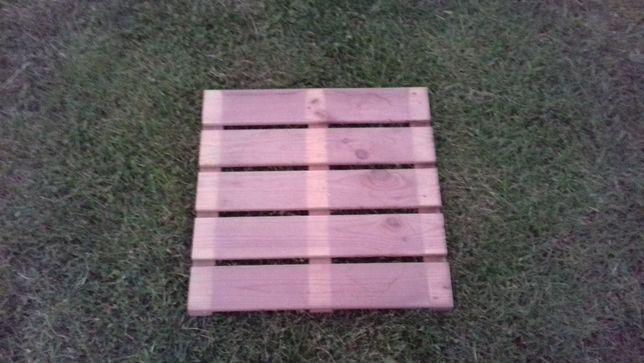 Podest tarasowy,ogrodowy,gładki drewniany 50x50 sosna balkon,pomost