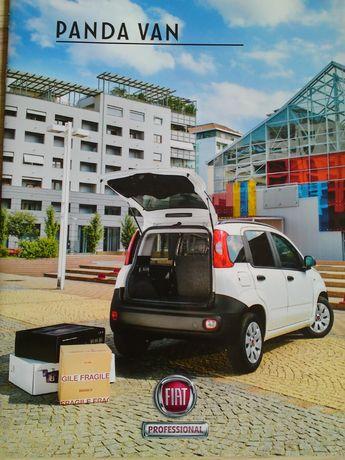 Prospekt Fiat Panda Van 2013 rok