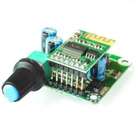 Bluetooth блютус стерео УНЧ ТРА3110 2*15 Вт питание 12-16 В