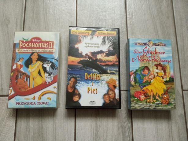 Kasety video dla dzieci oddam