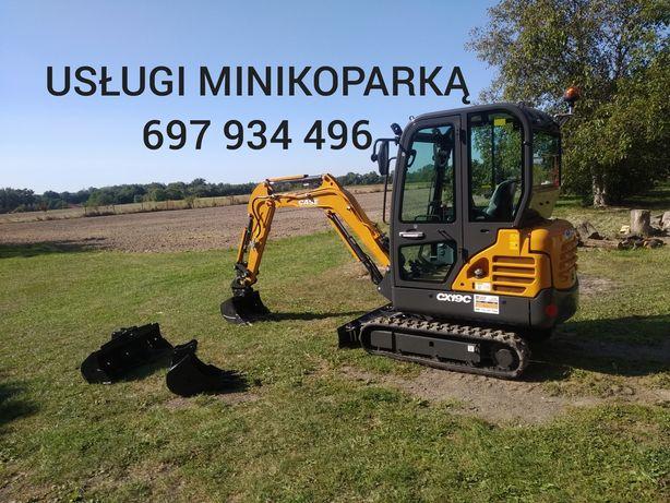 Usługi minikoparką Radom