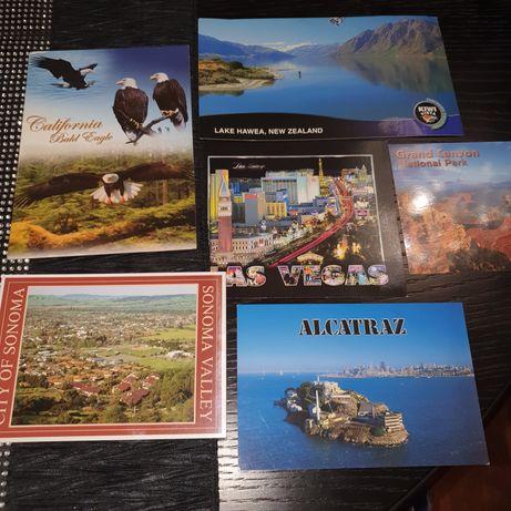 Karty pocztowe  USA.