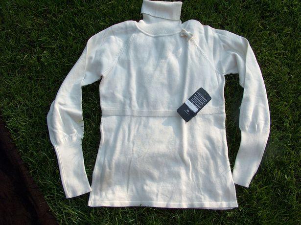 nowy kremowy sweter golf C&A rozm 38 do 40