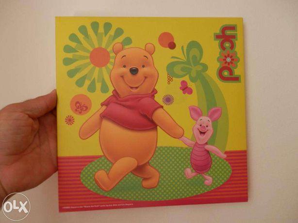 Conjunto de telas Criança Winnie da Poo