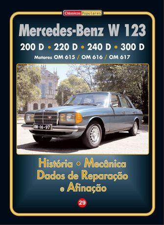 Mercedes-Benz W 123 Manual Técnico em Português