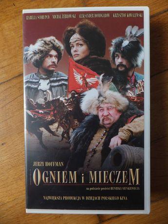 Pudełko VHS ''Ogniem i Mieczem'' oryginalne stan idealny