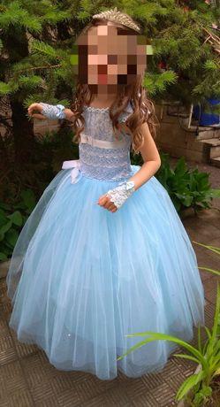 Нарядное выпускное платье для девочки от 5 лет