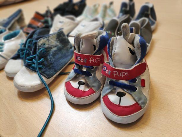 Buty dla niemowląt, niechodki komplet 10par