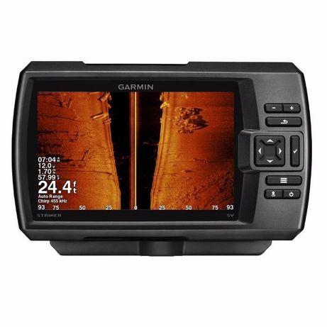 Garmin Striker 7SV Plus c GT52 эхолот. CHIRP GPS Wi-Fi создание карт