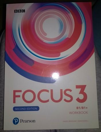 Focus 3. Second edition. Workbook. Wyd. Pearson