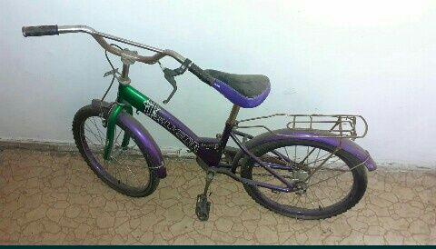 Велосипед подростковый. Диаметр колеса 44 см.