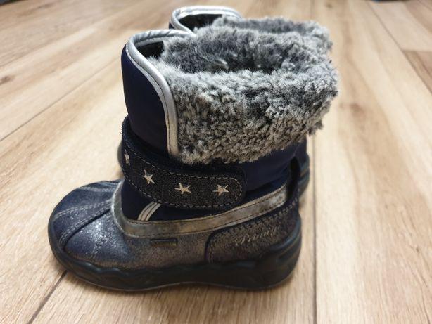 Ocieplane kozaczki śniegowce Primigi GORE-TEX 23