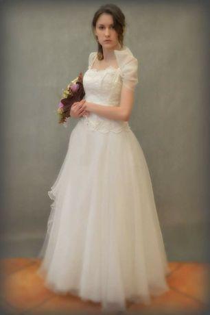Suknia ślubna rozm 36... ecri Sposa