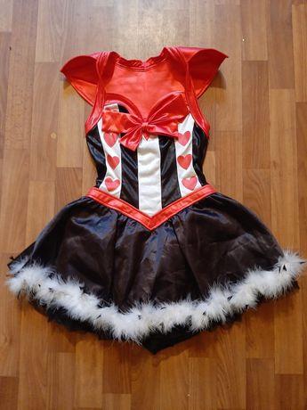 Костюм эротическое платье азартной серцеедки s/m