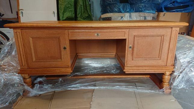 Przepiekne biurko dębowe, po renowacji!