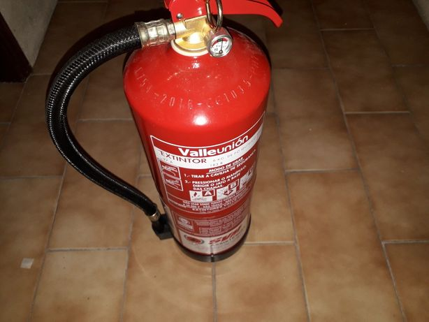 Extintores. quimico