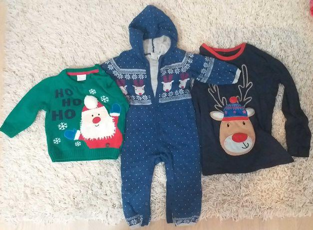 Новорічний одяг светр на хлопчика новогодняя одежда для мальчика