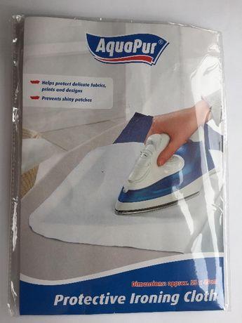 Materiał do ochrony tkanin podczas prasowania AquaPur