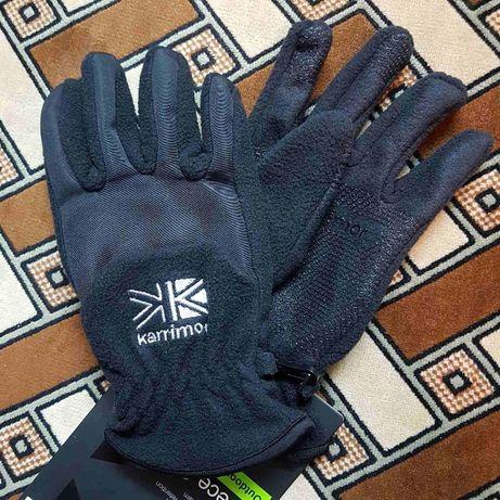 Тёплые зимние флисовые мужские перчатки Karrimor Fleece (M) из Англии
