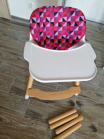Krzesełko do karmienia 2w1 folk