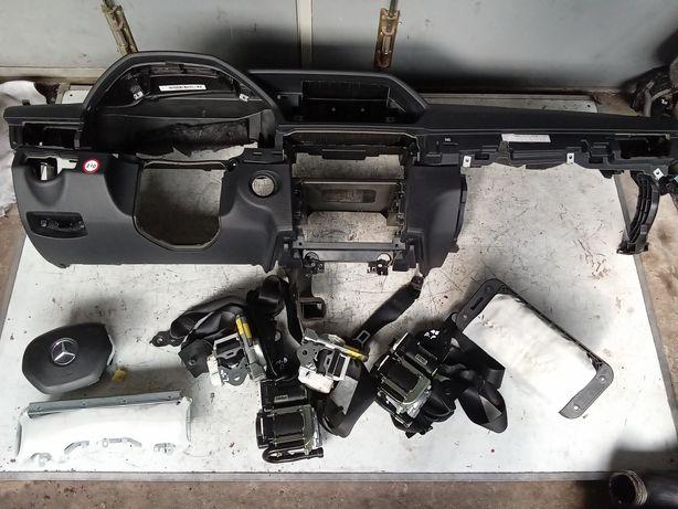 Konsola deska Airbag pasy Mercedes W212 Lift oryginalna