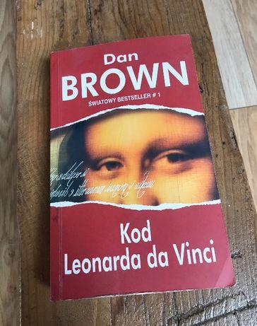Dan Brown Kod Leonarda da Vinci książka