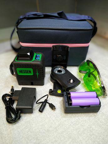 Лазерный уровень 3D 360 MINI (Зеленый луч) 5см*10см*10см
