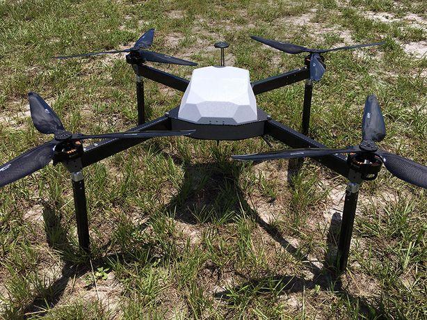 Грузовой коптер дрон квадрокоптер беспилотник для перевозки груза