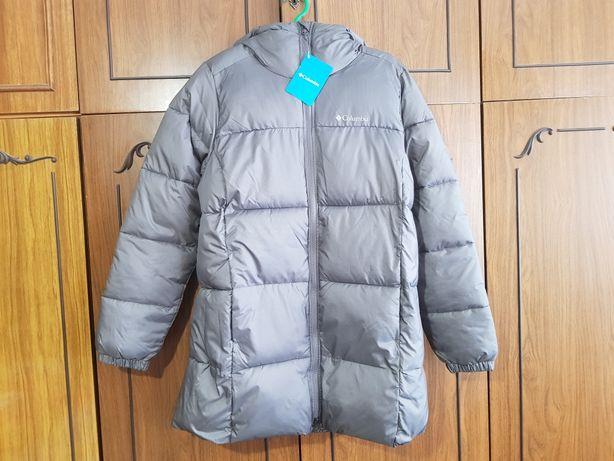 Куртка теплая спортивная длинная Columbia