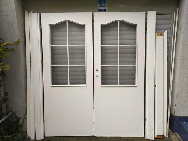 Drzwi wewnętrzne dwuskrzydłowe 160 cm