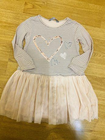 Нярядное платье р.92см для девочки розовое zara,h&m,mango,reserved