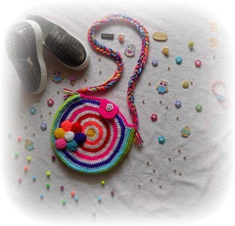 Сумочка сумка через плечо детская ручной работы Hand Made подарок