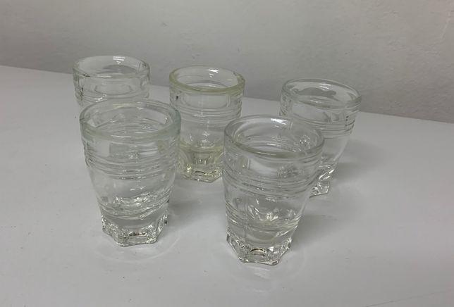 Conjunto 5 copos muito antigos