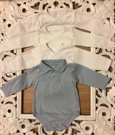 Roupa interior bebé 1-3 meses