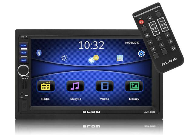 Radio 2-DIN Ekran 7 cali Blow AVH-9880 GPS