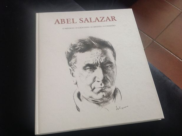 Livro Abel Salazar novo, capa rígida