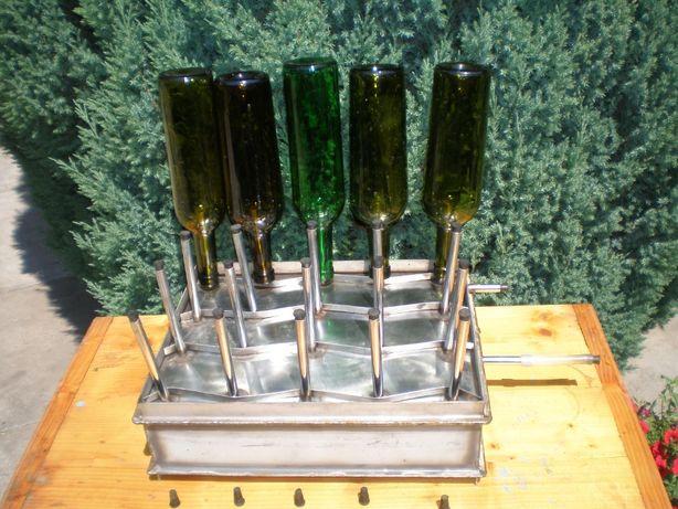 Пристрій для пропарювання пляшок (банок) від парогенератора