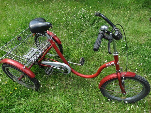Tolek rechabilitacyjny rower trójkołowy