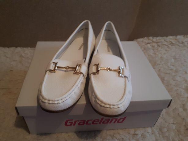 Białe mokasyny  Graceland roz 39