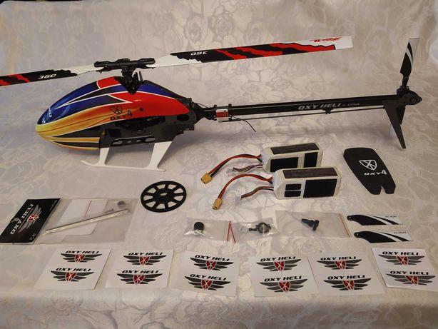 Model helikoptera rc Lynx OXY 4 360mm gotowy do lotu + pakiety +części